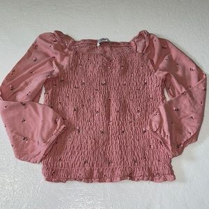 Abercrombie Kids Rouged long sleeve top